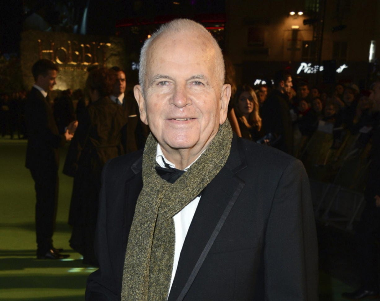 "FILE - In this Dec. 12, 2012 file photo, actor Ian Holm appears at the premiere of ""The Hobbit: An Unexpected Journey"" in London. Holm, the acclaimed British actor whose long career included roles in ""Chariots of Fire"" and ""The Lord of the Rings"" has died, his agent said Friday. He was 88. Holm died peacefully in the hospital, surrounded by his family and carer, his agent, Alex Irwin, said in a statement. His illness was Parkinson's related."