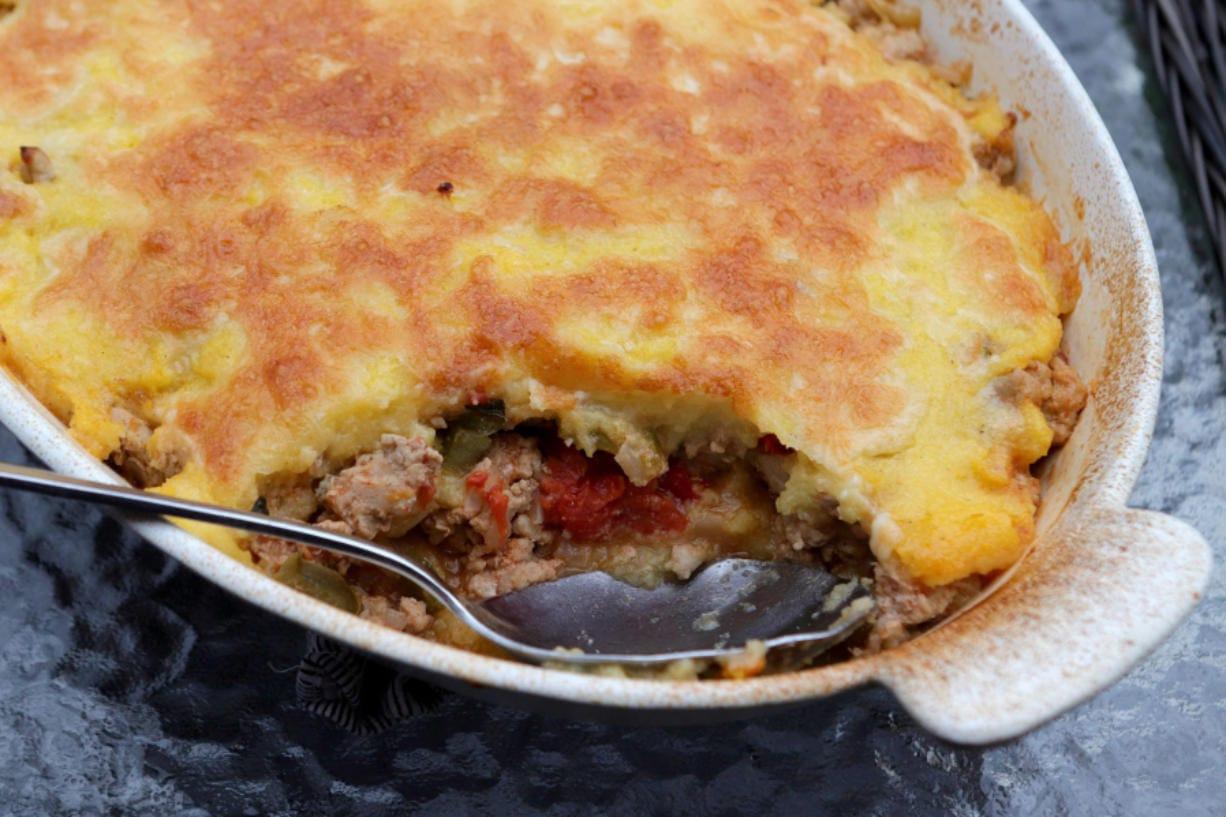 Ground Turkey Tamale Pie. (Hillary Levin/St.
