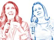 Rep. Jaime Herrera Beutler, R-Battle Ground, and Democrat Carolyn Long are the front runners for the 3rd District congressional seat.