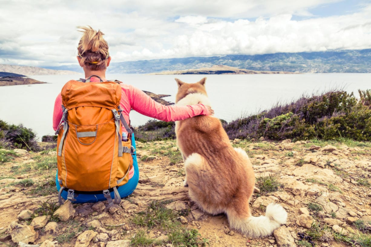 Women have told Angela Schneider of the bonding moments they share with their dogs, the safety they feel hiking alone, and the encouragement they get from their dogs' never-quit attitudes.