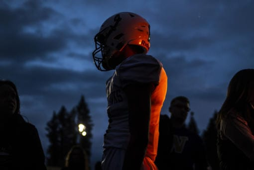 Anxious high school football players await word from the WIAA on what the 2020-21 season will look like. (Nathan Howard/The Columbian)