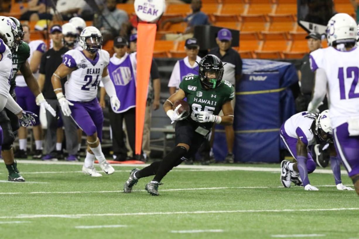 Union High grad Lincoln Victor made an impact for Hawai'i last season as a true freshman.