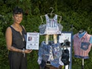 Connie Wellman refashioned clothes from her niece, Ashanti Conde, who disappeared two years ago when she was 29. Wellman, pictured outside her Felida home, couldn't part with the clothing.