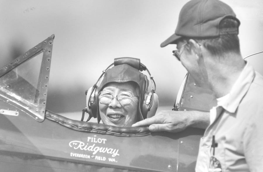 Clark County History: First Chinese American woman pilot - Columbian.com