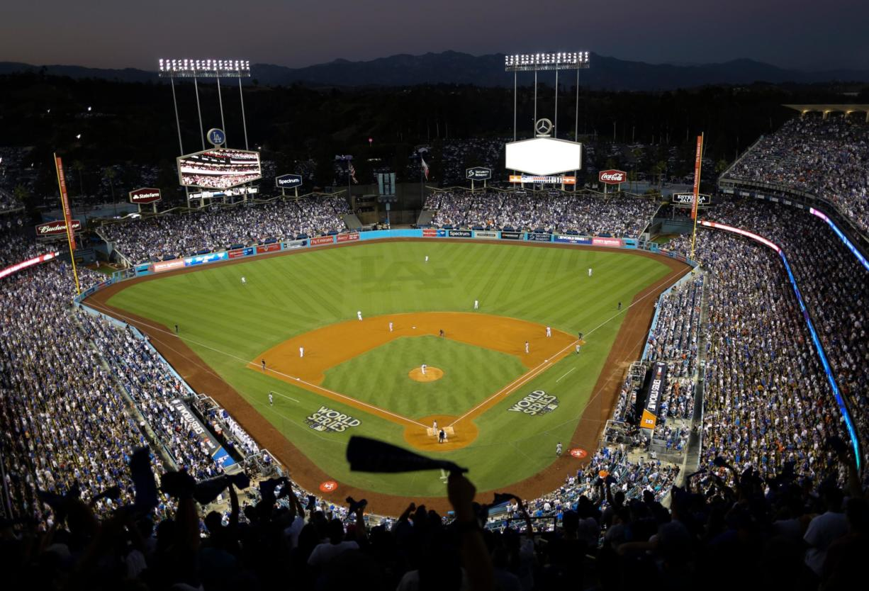 Dodger Stadium's 40-year wait to host the All-Star Game is going to last even longer. The game scheduled for July 14 was canceled Friday, July 3, 2020, because of the coronavirus pandemic, and Dodger Stadium was awarded the 2022 Midsummer Classic.