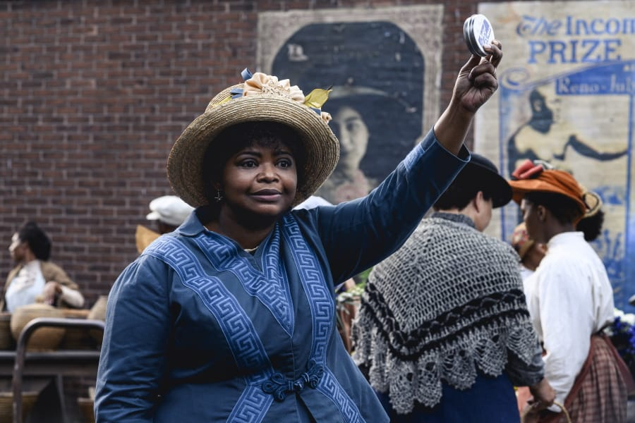 """Octavia Spencer in a scene from """"Self Made: Inspired by the Life of Madam C.J."""