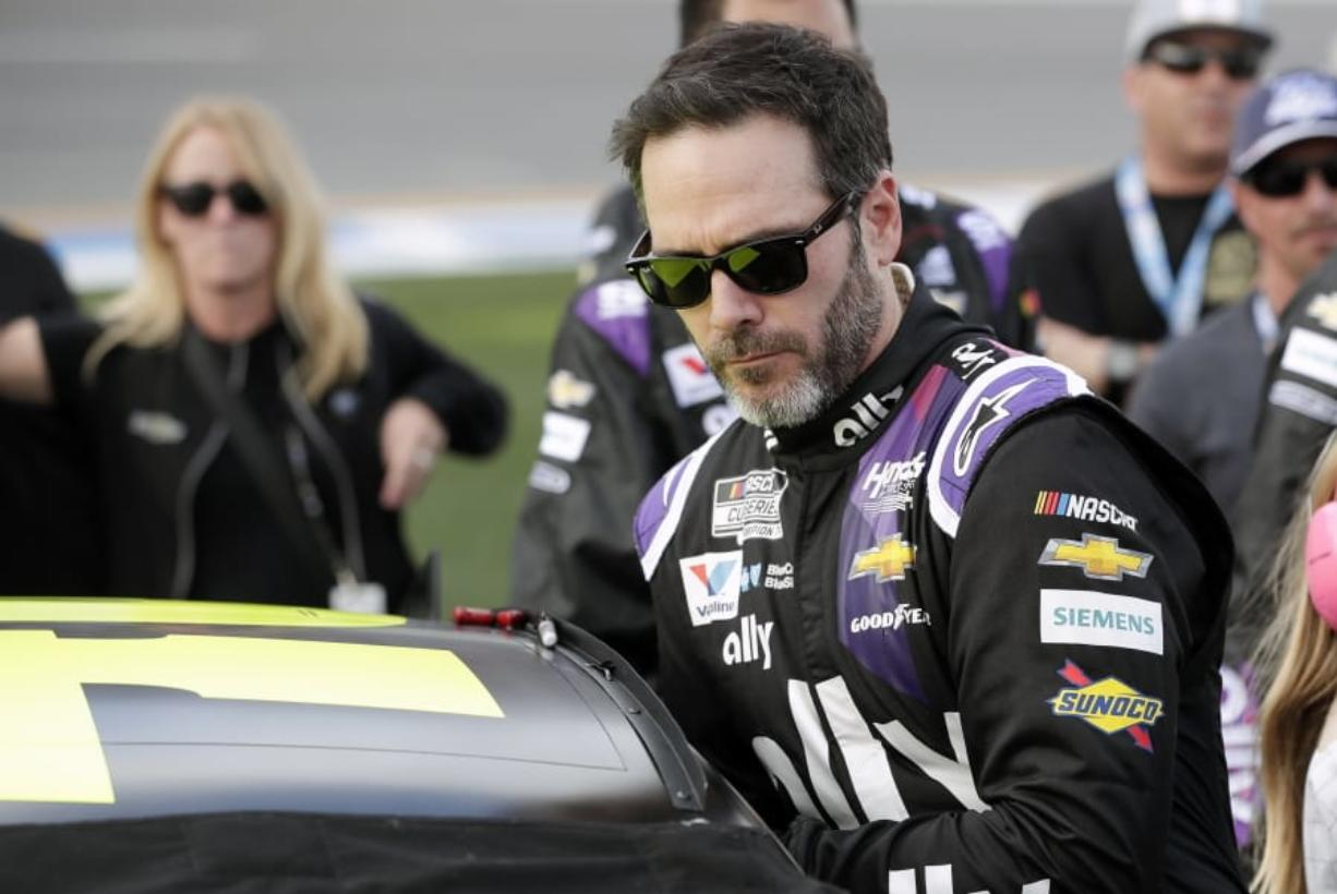 NASCAR seven-time champion Jimmie Johnson tested positive for the coronavirus, it was reported on Friday, July 3, 2020. He will not compete in a NASCAR race until his health has cleared.