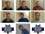 Seven Clark County men were arrested on July 4 in Lincoln City, Ore., for allegedly harassing a Black family, shooting off illegal fireworks and challenging responding police officers to a fight.