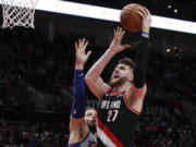Portland Trail Blazers center Jusuf Nurkic (27) is back and healthy. So are Zach Collins, Meyers Leonard, Giannis Antetokounmpo, Anthony Davis and plenty of others. If the four-month NBA shutdown had a silver lining, it's that a lot of ailing players got well.