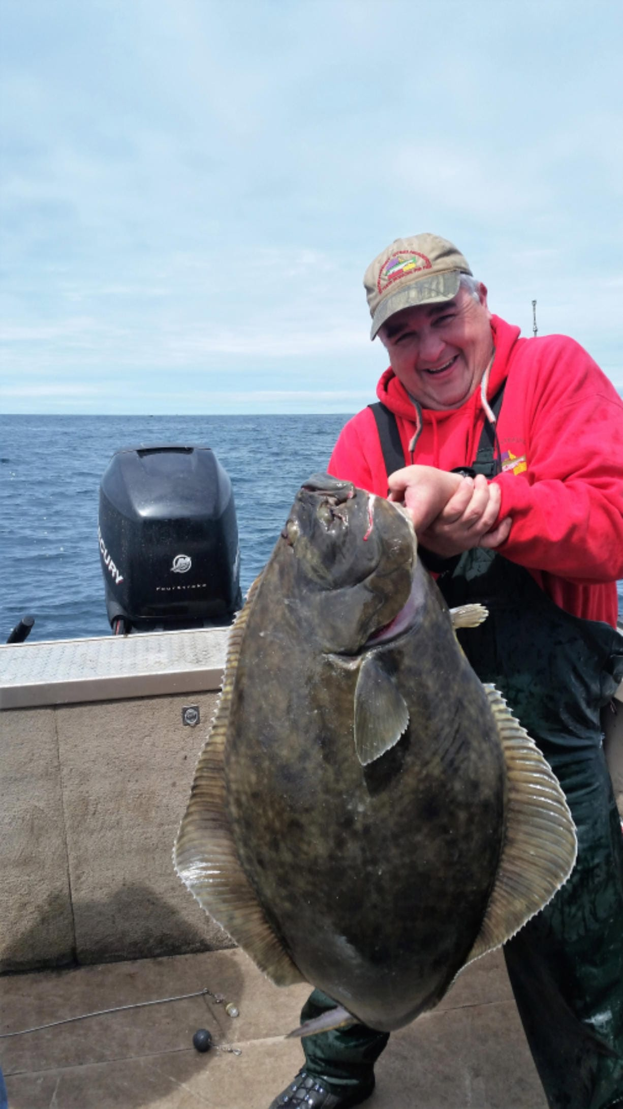 Big halibut are hard to hold up and hard to reel up, but well worth the trouble. A rare summer season for halibut has opened on the Washington coast after the spring season was closed.