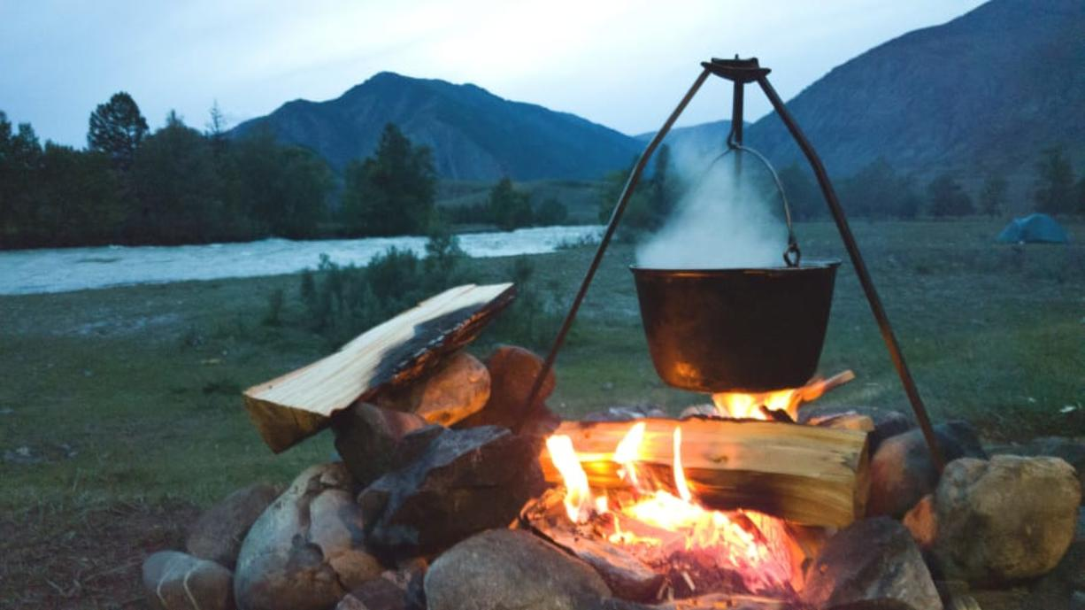 Careful planning is key to successful campfire cooking according to Seattle chef Rachel Yang (iStock.com)