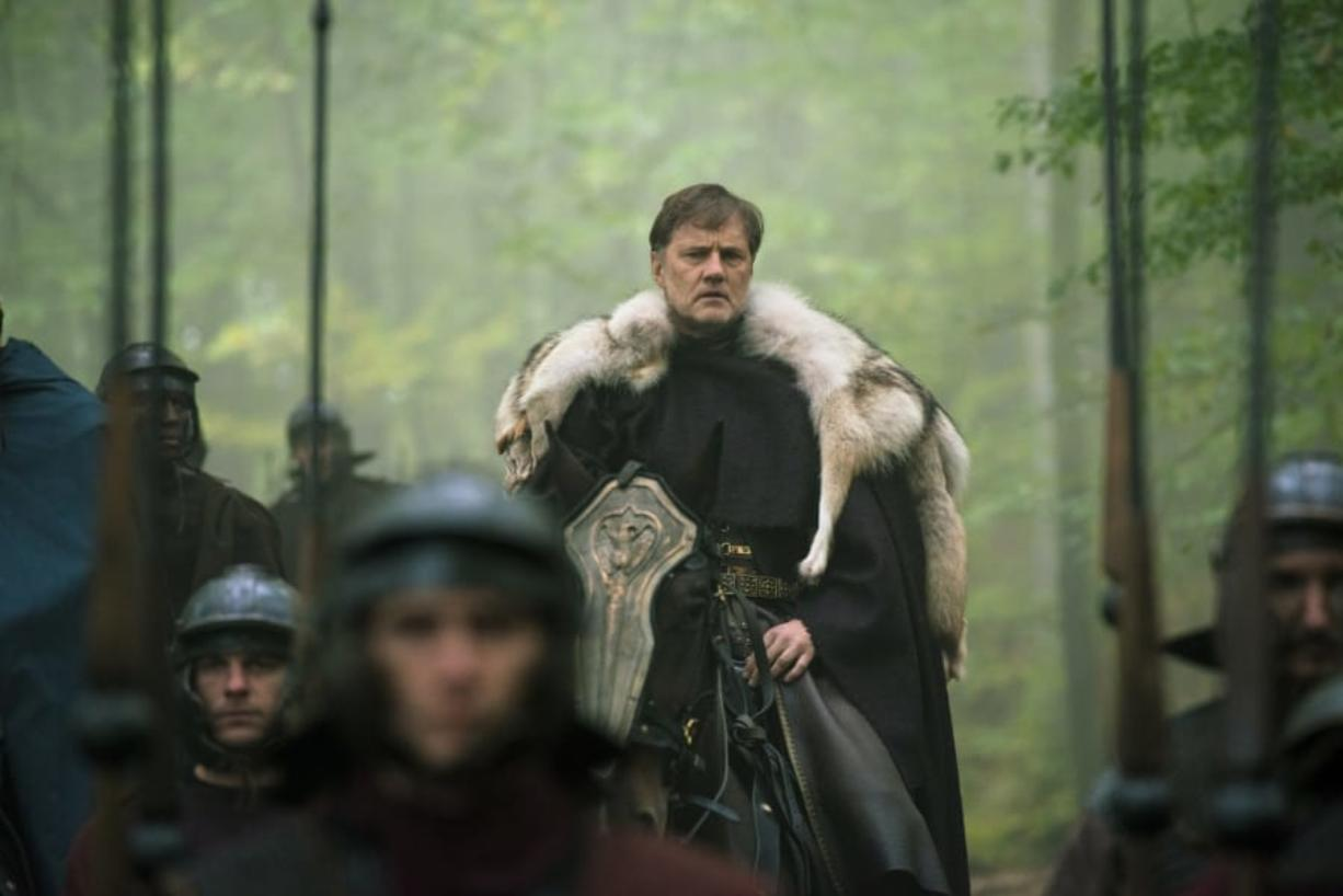 "David Morrissey plays a Roman general come to conquer the Celts in the Epix series ""Britannia."" (Sky UK Ltd.)"
