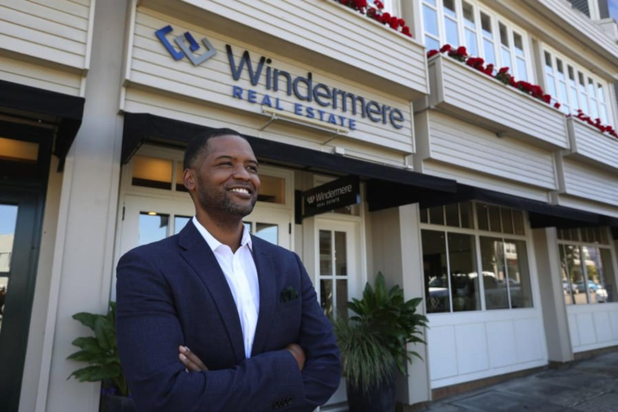 Dave Jones, photographed Aug. 5, 2020 in Tacoma, Washington, is the only Black owner of a Windermere branch and a former middle school principal, who penned a call to action following the protests that has prompted local brokerages to consider tracking how many homes they sell to people of color, among other changes.