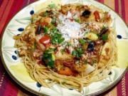 Mediterranean Summer Vegetable Stir-Fry.