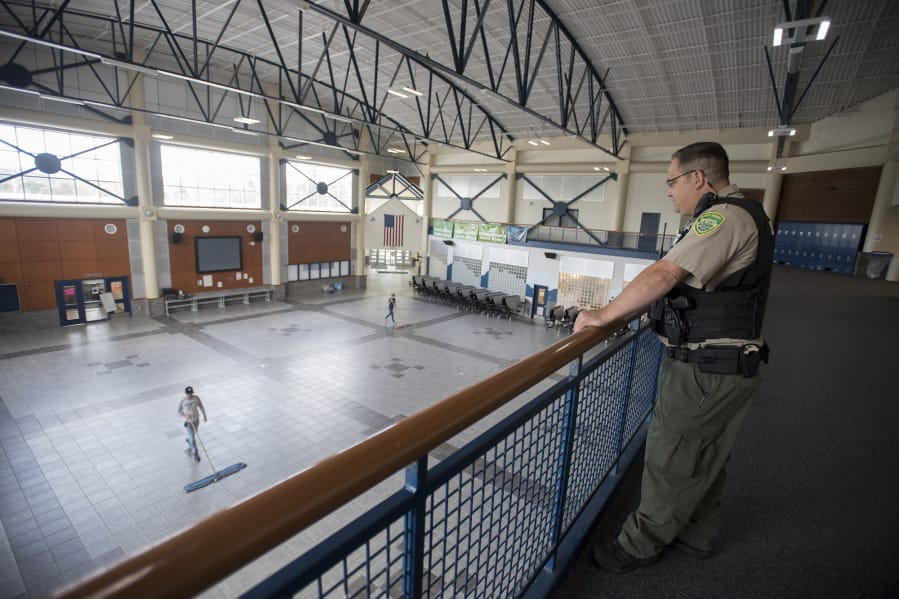 The Clark County Sheriff's Office is discontinuing its resource officer program at school districts in Clark County.