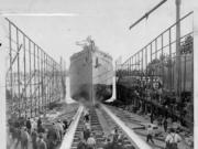 The S.S. Kineo was a wooden cargo ship launched at the Standifer Wood Shipyard in 1918 during World War I. Near today's Port of Vancouver, the city's first shipyard launched 450 wooden ships before it changed to building steel cargo ships and tankers.