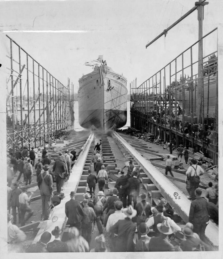 Clark County History: S.S. Kineo at the Port of Vancouver