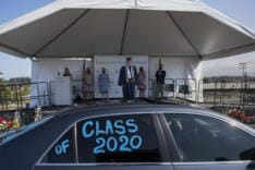 HeLa High School Drive-Through Graduation news photo gallery