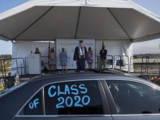HeLa High School Drive-Through Graduation