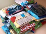 MEADOW HOMES:  Members of the SEWcial Distance Club recently sewed and donated 1,500 cloth masks to ESD 112 for its employees and others to use.