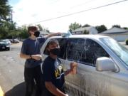 BAGLEY DOWNS: The Boys & Girls Clubs of Southwest Washington held its first-ever car wash fundraiser and raised $530 at the group's OK Clubhouse on Aug.