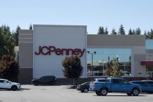 The JC Penney store in east Vancouver will soon be closing its doors, as seen Monday morning, August 10, 2020.