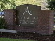 Avamere Rehabilitation of Cascade Park has a 37-person COVID-19 outbreak in residents and staff, according to a dashboard on their website, as seen Thursday afternoon, August 13, 2020.