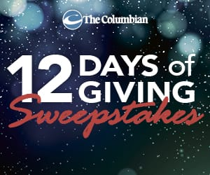 12 Days of Giving contest promotional image
