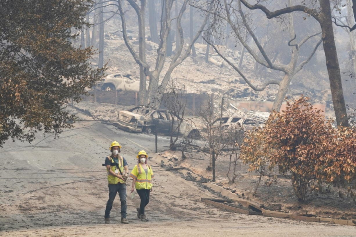Wildfires Kill 15, Damage 1,500 Homes in California Wine ... |Wildfire Damage