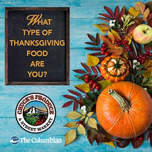 What Type of Thanksgiving Food Are You? contest promotional image