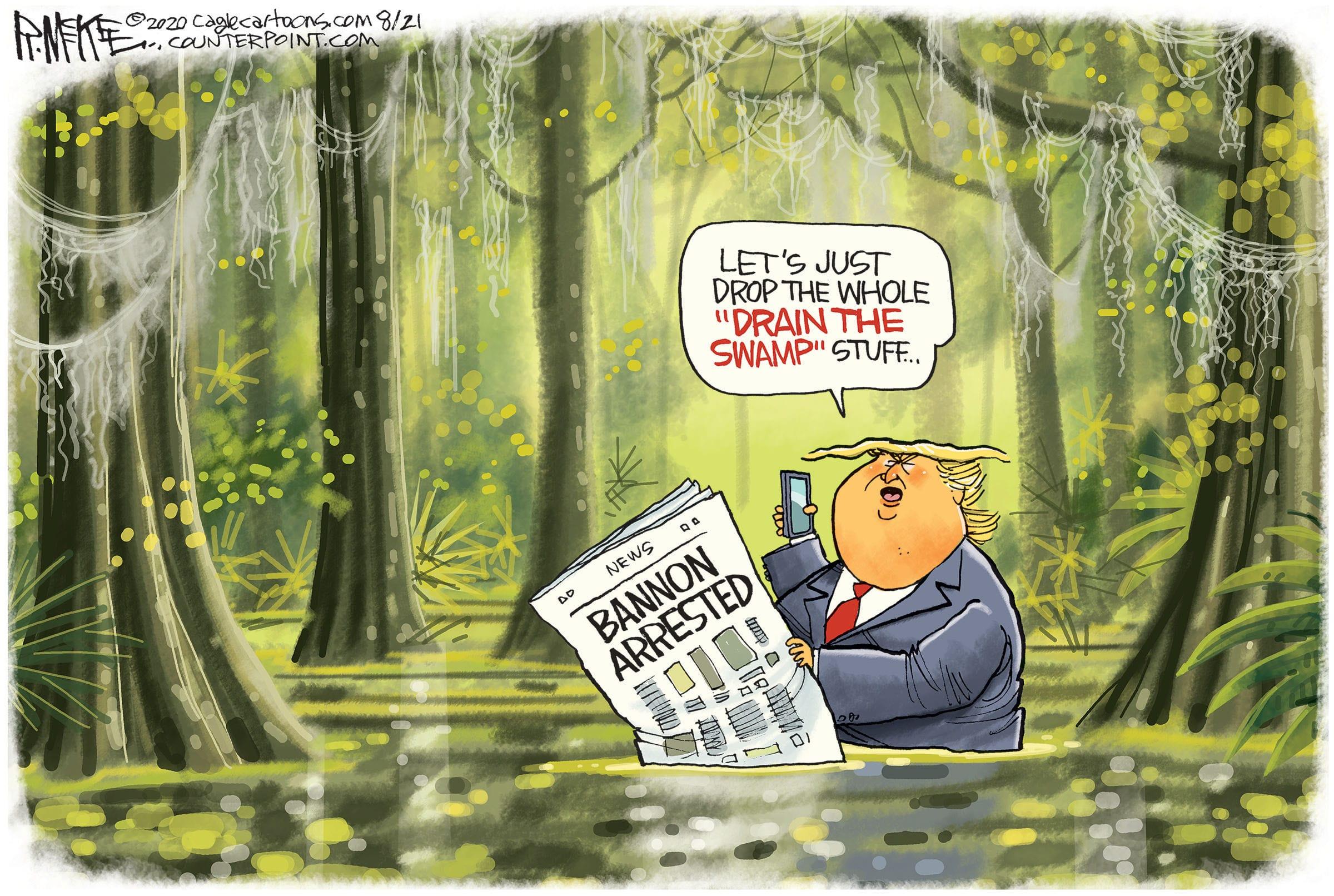 Aug. 22: Drain The Swamp
