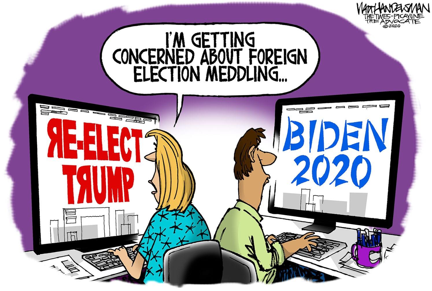 Aug. 15: Election Meddling