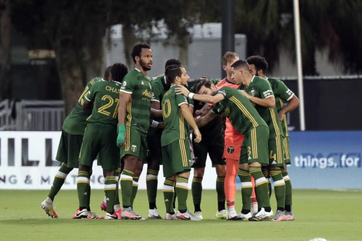 After playing in the MLS is Back title match on Tuesday, the Portland Timbers will pick up the regular season with a match against the Seattle Sounders on Aug. 23, 2020, in Portland.