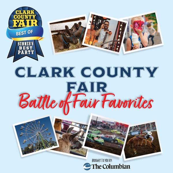 Clark County Fair Battle of Fair Favorites contest promotional image