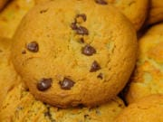 "Chef Nicole Burgess, the pastry chef at Pechanga Resort Casino in Temecula, Calif., developed ""Quarantine Choco-Chip Cookies"" for National Chocolate Chip Cookie Day, observed on Aug. 4."