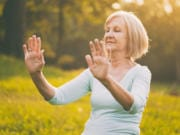 Mindfulness and meditation practices like qi gong can help caregivers avoid burnout and boost their resilience.