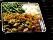 Sausage Sheet Pan Supper.
