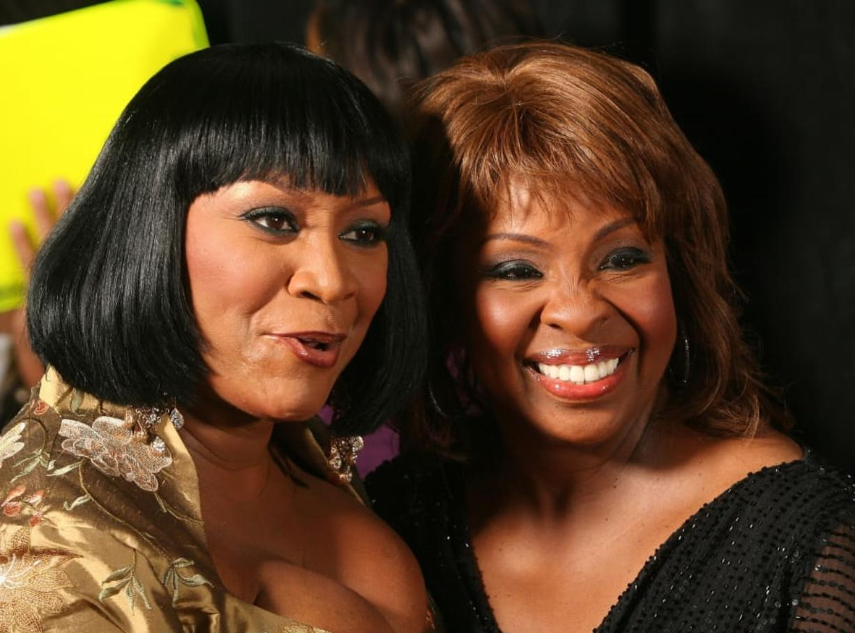 Singers Gladys Knight and Patti Labelle pose in the press room at the 2007 BET Awards held at the Shrine Auditorium in Los Angeles. (Frederick M.