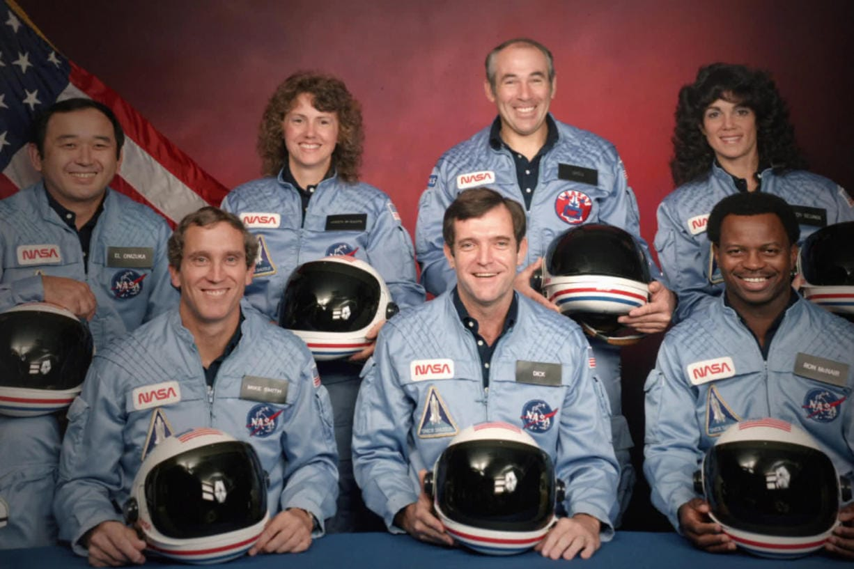 The Challenger 7 flight crew: Ellison S.