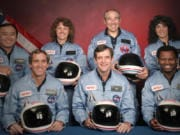 The Challenger 7 flight crew: Ellison S.