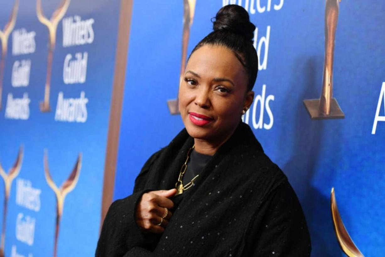 Aisha Tyler attends the 2020 Writers Guild Awards West Coast Ceremony at The Beverly Hilton Hotel on Feb. 1, in Beverly Hills, Calif.