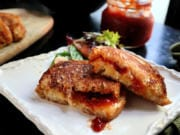 Homemade tomato jam is easy to make, and dresses up everything from eggs to biscuits to grilled cheese sandwiches.