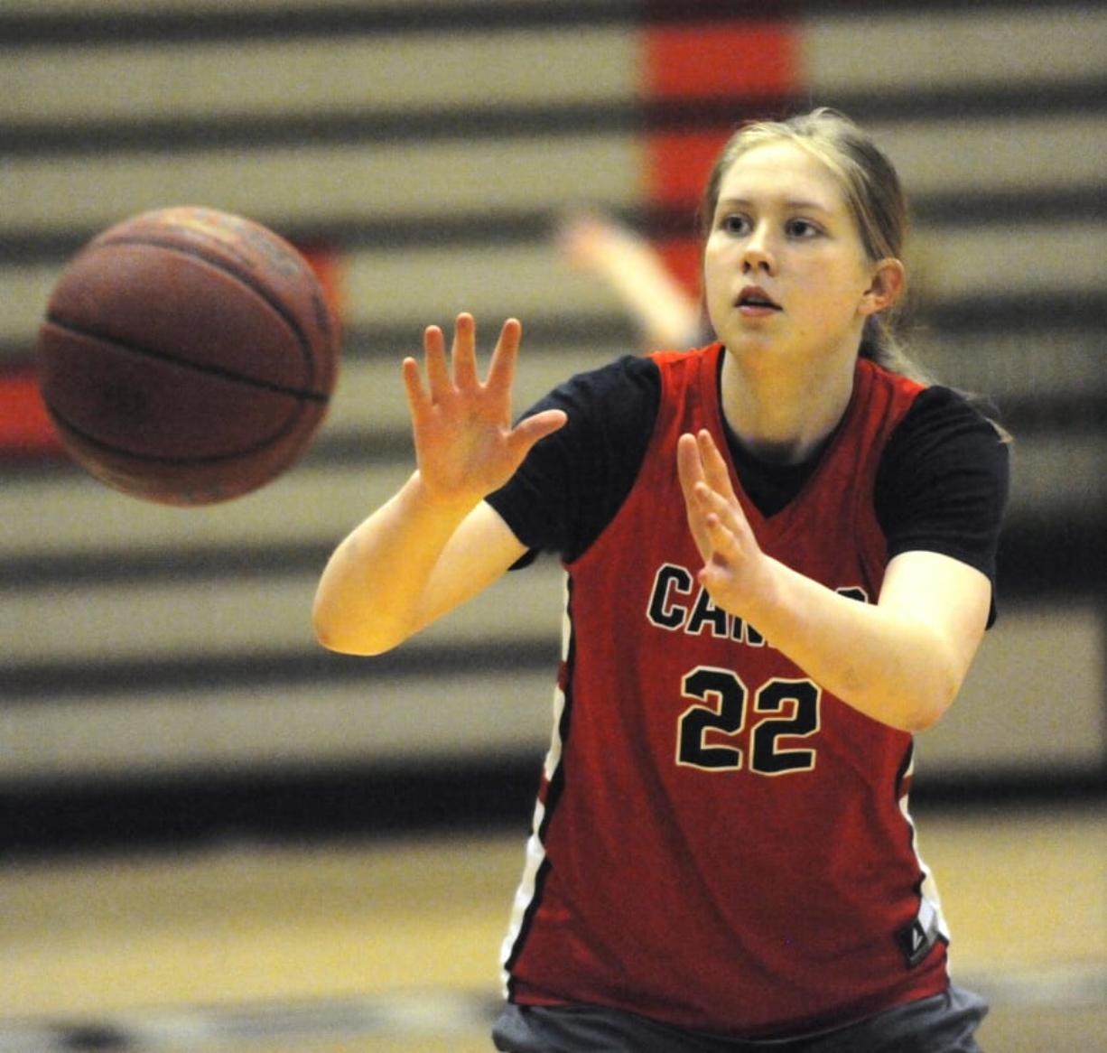 Camas senior Faith Bergstrom has made an oral commitment to continue her basketball career at Cal Poly in San Luis Obispo, Calif.