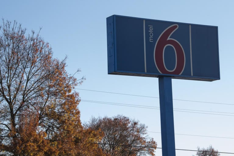 The former Motel 6 is just east of Interstate 205 in Vancouver.