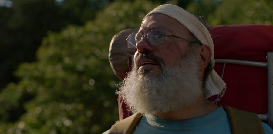 """David Cross stars as real-life naturalist and butterfly hunter Dr. Robert Michael Pyle as he takes an epic journey across """"The Dark Divide,"""" part of our own Gifford Pinchot National Forest here in Southwest Washington."""