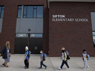 Hybrid Kindergarten Classes at Sifton Elementary