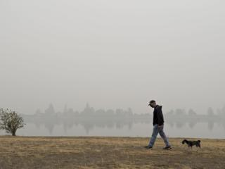 Smoky Day in September
