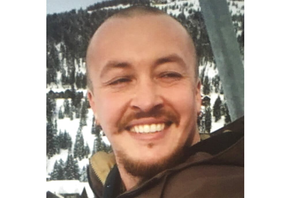 """This undated photo provided by the Danielson family shows Aaron """"Jay"""" Danielson, who was shot in the chest late Saturday, Aug. 29, 2020, in Portland, Ore., as protesters clashed with supporters of President Donald Trump. No one has been arrested in the shooting."""