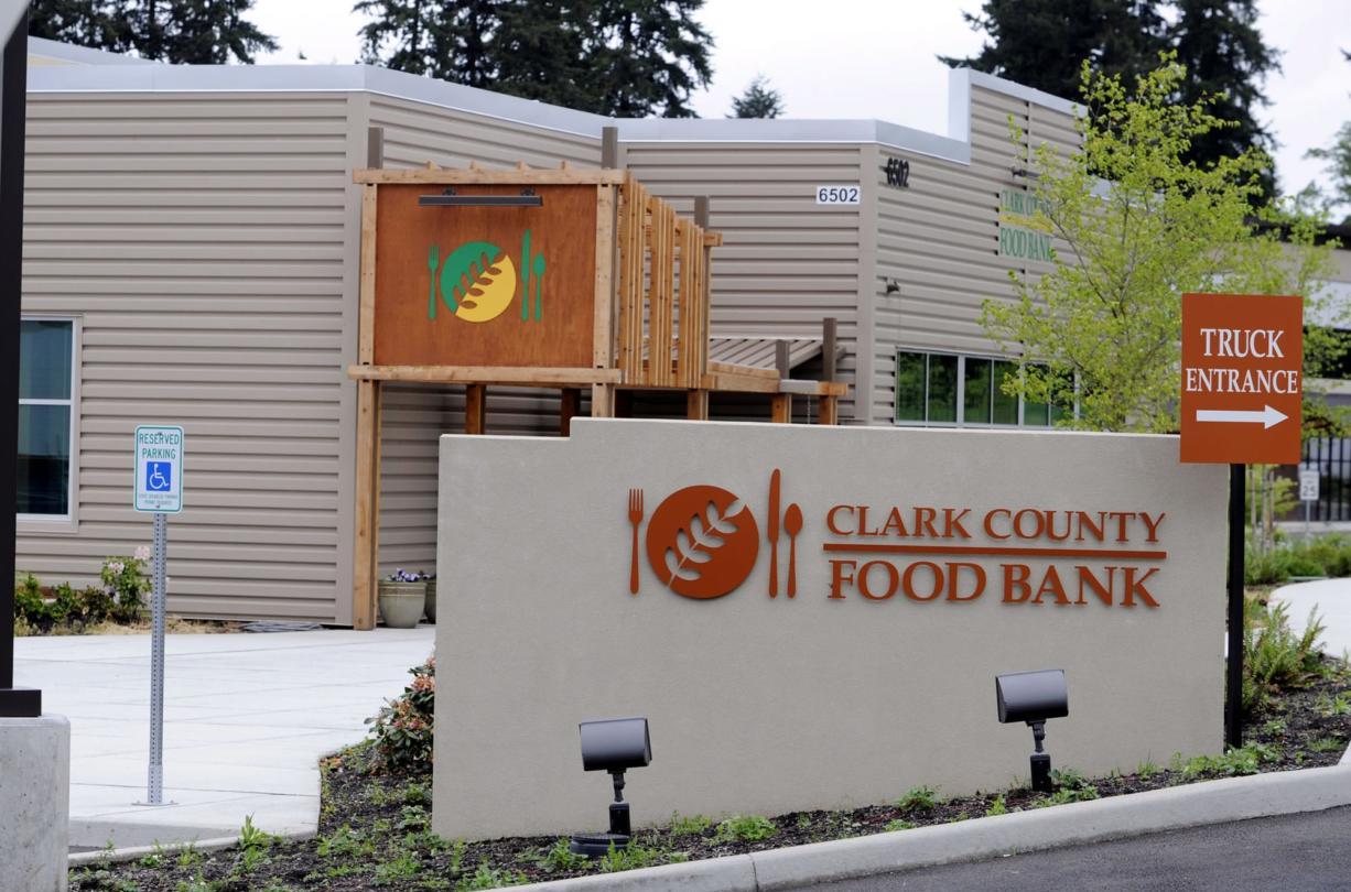 Clark County Food Bank (The Columbian files)