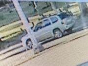 The Vancouver Police Department has released this photo of the silver or light tan GMC Envoy involved in a fatal hit-and-run crash Sept. 2 evening near the intersection of East Mill Plain Boulevard and Grand Boulevard. Law enforcement arrested the suspected driver Friday evening, 21-year-old Harley Anderson.